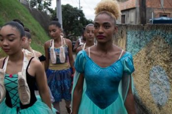 Still Shot of Black Ballerina's from National Geographic's TV series: Impact with Gal Gadot.